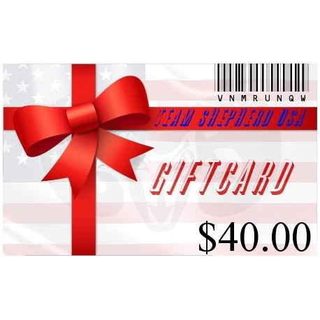 Gift Card - 40