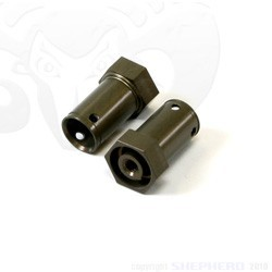 Velox V10 Aluminum Wheel Axles