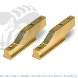 "Velox V10 ""PRO"" Brass Engine Mount"