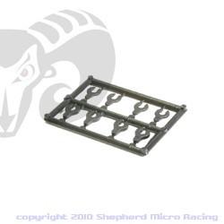 Velox V8 Front Caster Spacer Set