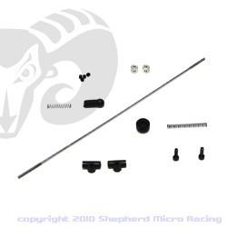 Velox V8 Throttle/Brake Linkage Set