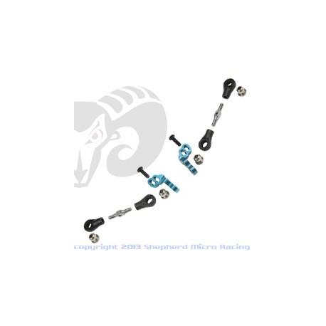 Velox V8 Rear Camber Link Set