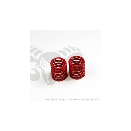 Velox V8 Front Shock Red Springs
