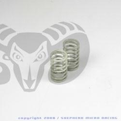 Velox V10 Rear Shock Gray Springs