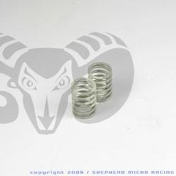 Velox V10 Front Shock Gray Springs