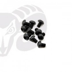 Button Head Screws M3x4