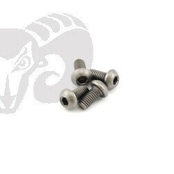 "Button Head Screws M3x6 ""Titanium"""