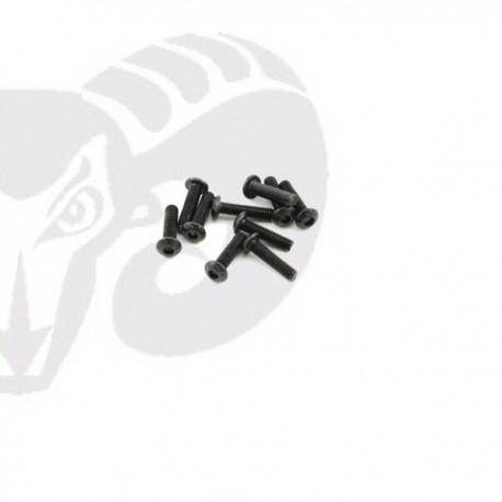 Button Head Screws M3x12