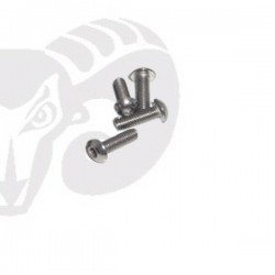 "Button Head Screws M3x12 ""Titanium"""