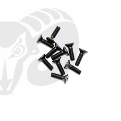 Flat Head Screws M3x12