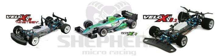 Velox F1, V10 & V8 RC Kits