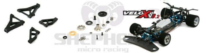 Velox V8 Parts And Accessories