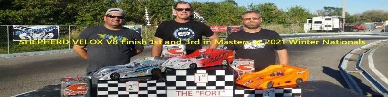 1st - Peter Breton, 3rd - Martin Johnson